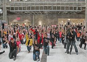 SU2C Flashmob 2014