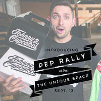 PEP RALLY featuring Johnny Cupcakes