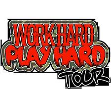 WORK HARD PLAY HARD TOUR  logo