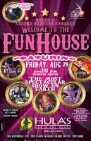 """The FUNHOUSE at Hula's!  A """"CIRCUS"""" themed party!"""