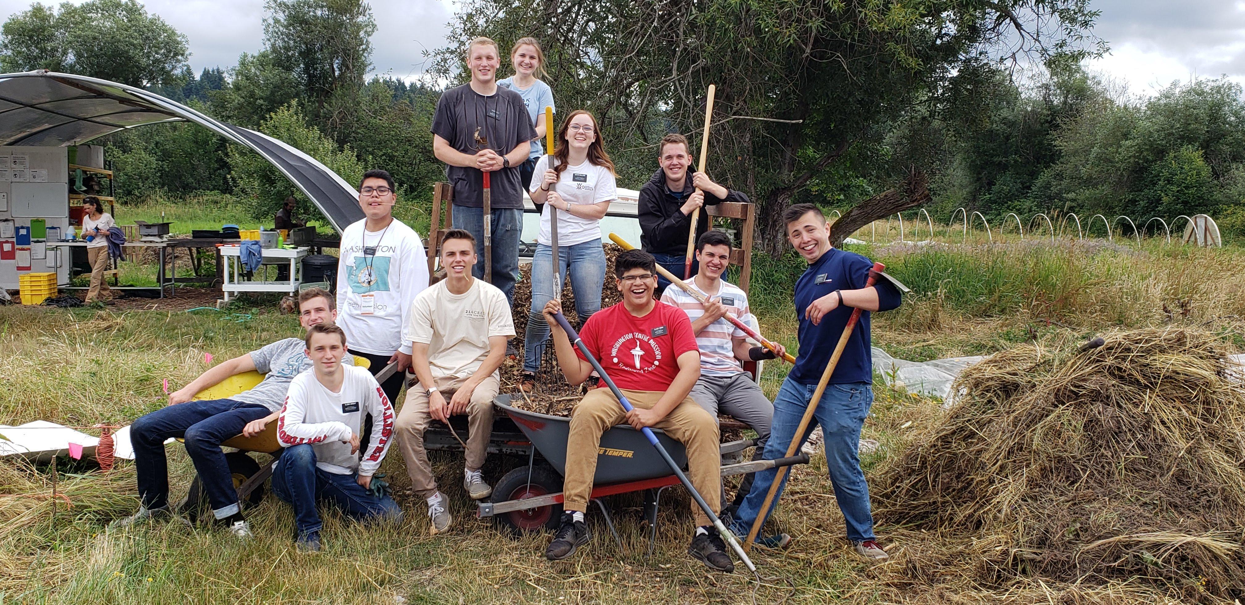 21 Acres Saturday Volunteer Work Parties - Seasonal Farm Projects!