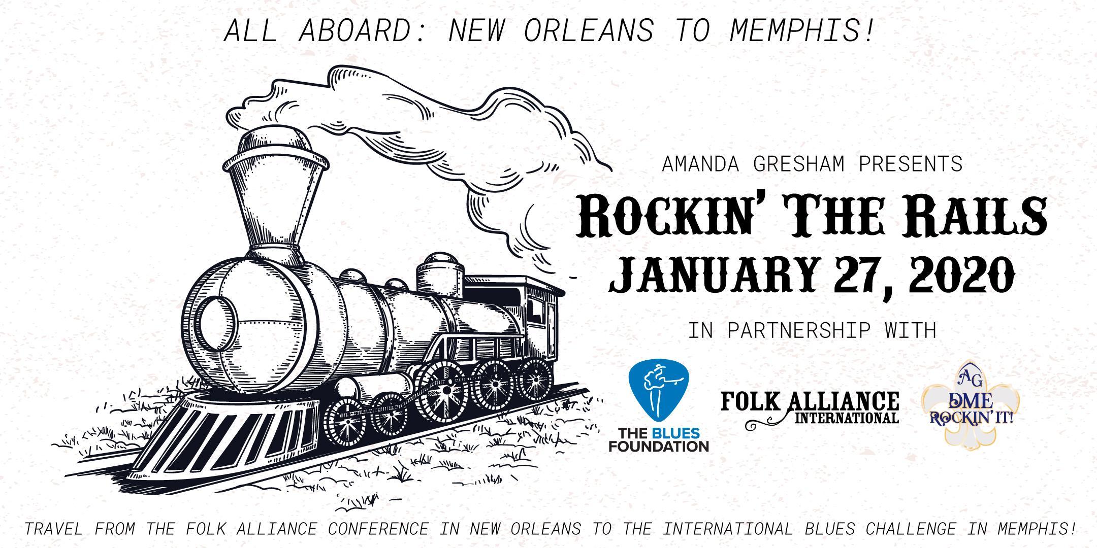 Amanda Gresham's Rockin' The Rails: FAI-New Orleans to IBC-Memphis