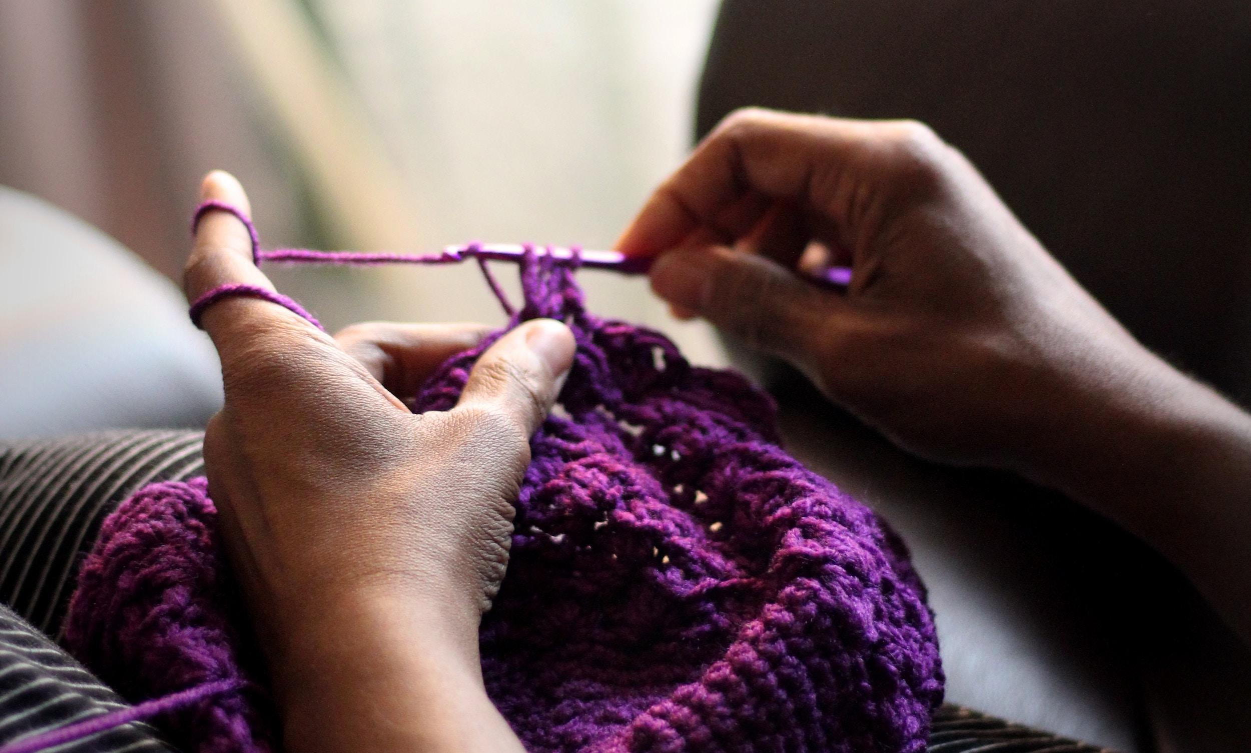 Learn to crochet: Basic stitches for beginners