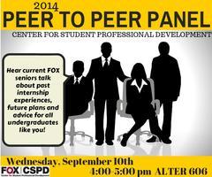 Peer to Peer Panel