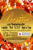 Prima~Pre-Thanksgiving Party~Give thanks & Give back