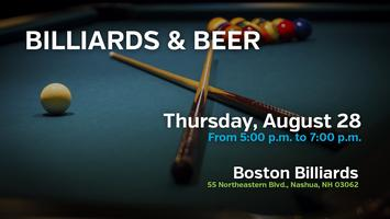 Billiards & Beer with GenOppNH