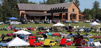 Classics on the Green Wine Festival and Car Show 2014