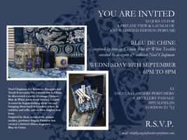 Bleu de Chine - An Evening with Angela Flanders and...