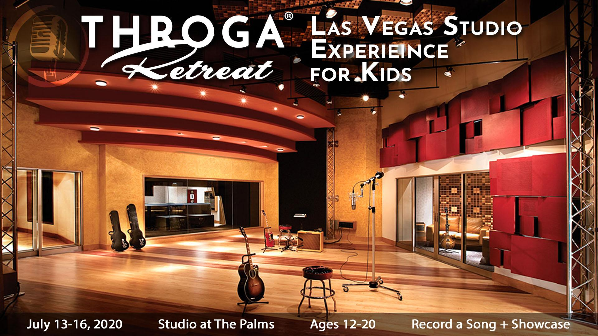 Singing Retreat: Las Vegas Studio Experience for Kids