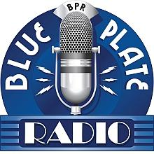 Blue Plate Radio and Blue Plate Radio Productions logo