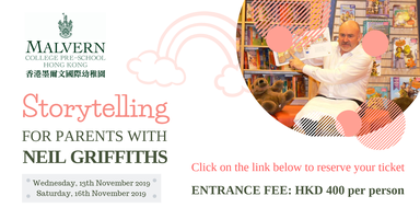 Storytelling for Parents - workshop with Neil Griffiths