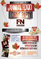 FN Friday Nights Havana presents Annual Food Drive Part...