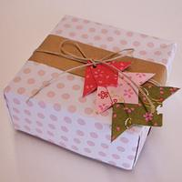 Gift wrapping Japanese style