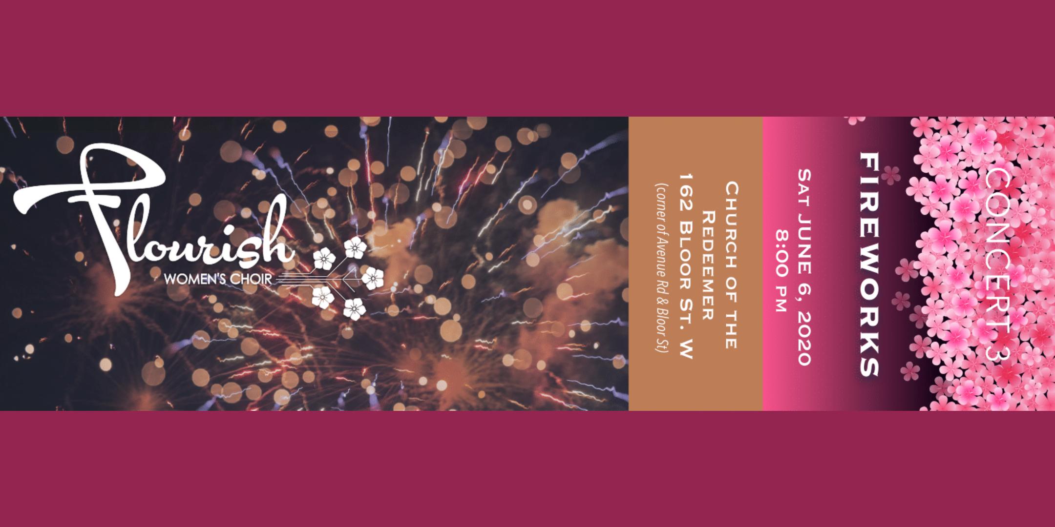 FLOURISH Women's Choir - Fireworks - Concert Three