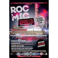 """The Roc Da Mic"" ShowTime At The Apollo All Genre..."