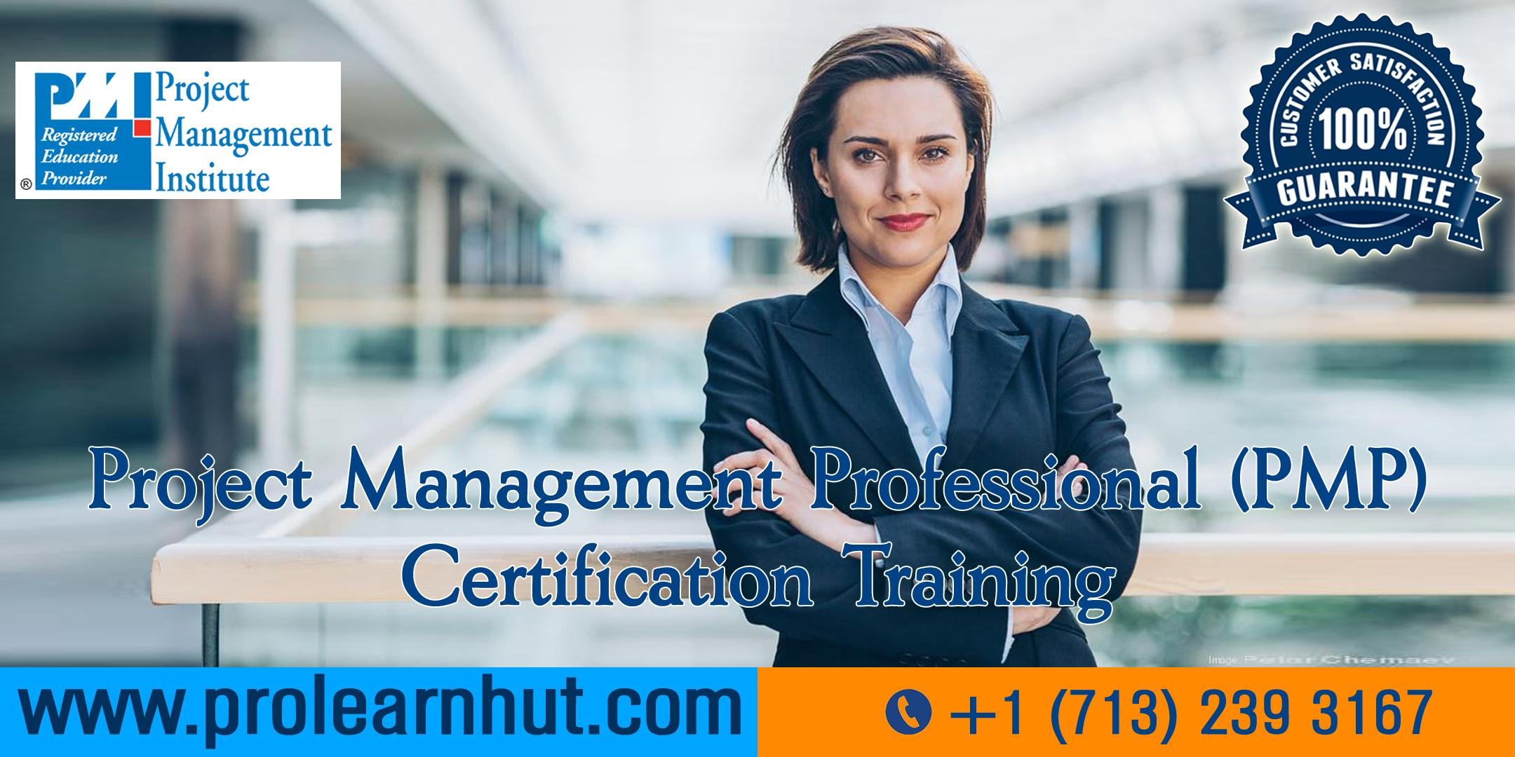 PMP Certification | Project Management Certification| PMP Training in Jersey City, NJ | ProLearnHut