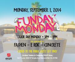 Yo! FUNday Monday Day Party with Skam Artist DJ FASHEN...