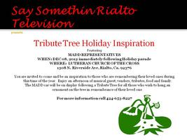 TRIBUTE TREE HOLIDAY INSPIRATION
