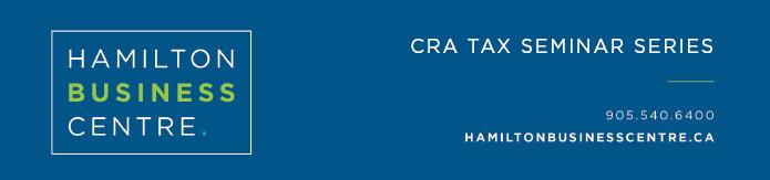 CRA Tax Seminar - May