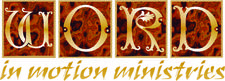 Word In Motion Ministries  logo