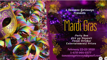 La Events February 2020.3rd Annual 2020 Mardi Gras Party Bus From Atl To New Orleans With Alcohol