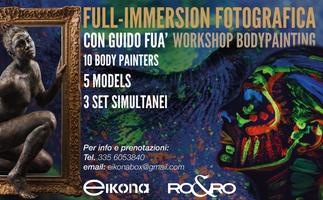 FULL-IMMERSION BODY PAINTING
