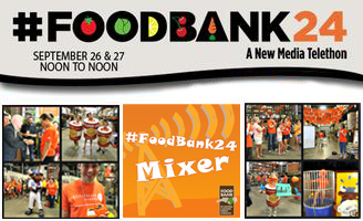 #FoodBank24 Mixer Event: Part of the LIVE 24 Hour...