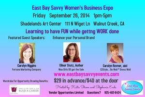 East Bay Savvy Women's Business Expo (Walnut Creek)