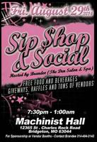 THE DEN SALON & SPA  Presents....  SIP, SHOP & SOCIAL