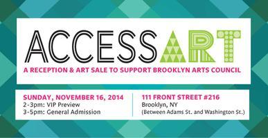AccessArt: Reception & Art Sale