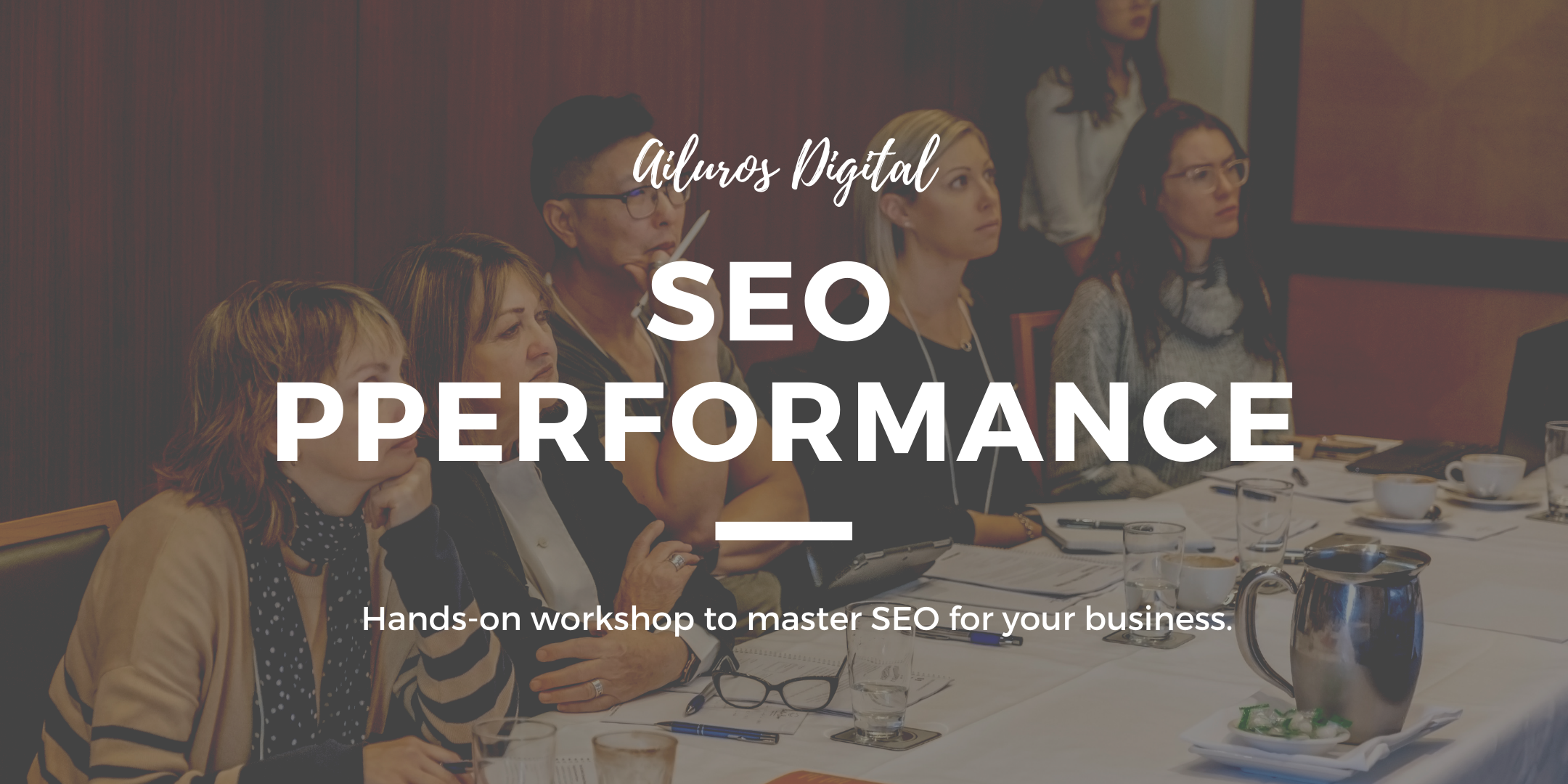 The SEO Performance Workshop - Hands-On Training!