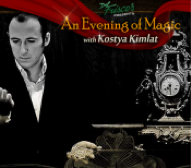 SeeLiveMagic Presents: Dinner & Magic Show with Kostya Kimlat