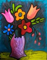 Flower Bouquet Painting Class - $5 Off