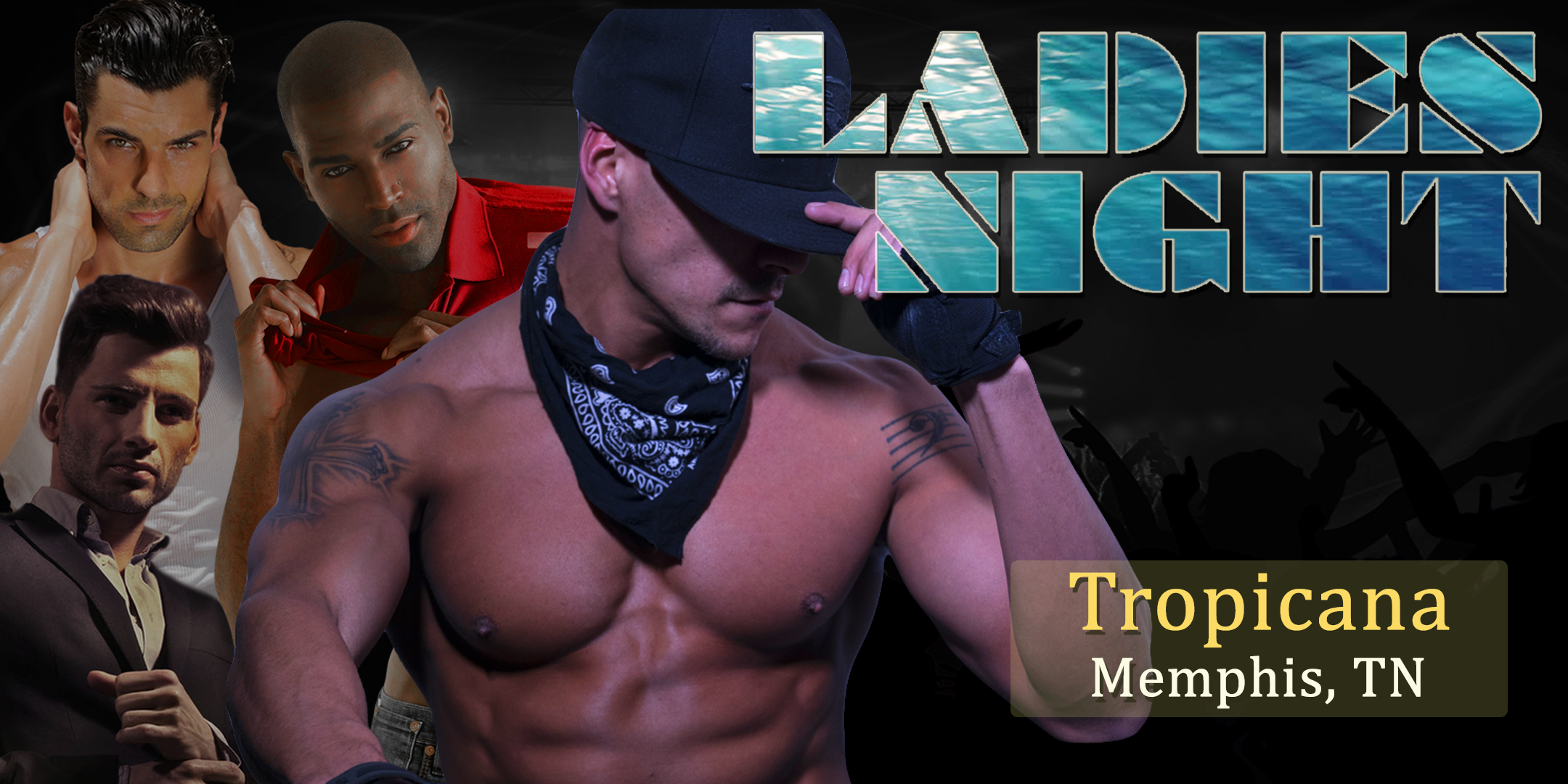 Holiday Ladies Night Show LIVE Male Revue Memphis, TN