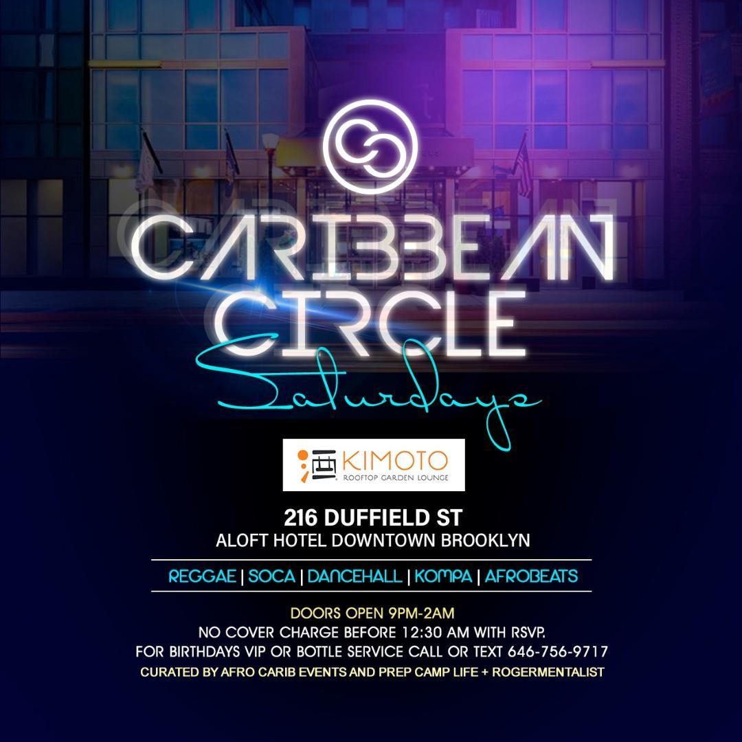 CARIBBEAN CIRCLE SATURDAYS / WEEKLY EVENT FROM 1/11/2020 TO 12/26/2020 (NO EVENT ON 1/4/2020)
