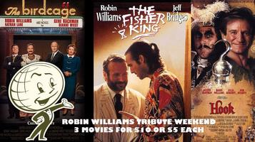 Robin Williams Weekend - 3 PACK MOVIE BUNDLE