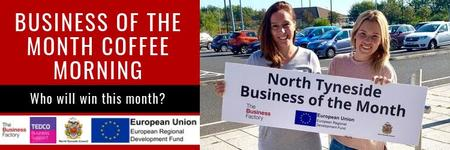 Business of the Month Coffee Morning – Thursday 31st...