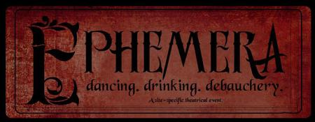 Ephemera:  Part immersive theater, part dance, part...