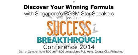 Success Breakthrough Conference 2014