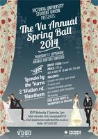 VUSU Presents: The VU Annual Spring Ball 2014