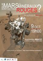 Sur Mars, les minéraux sont-ils tous rouges ?