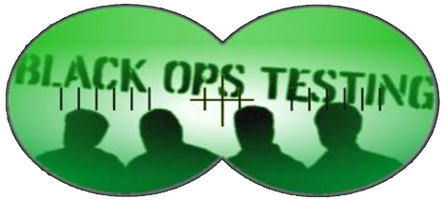 Black Ops Testing 1 Day Workshop