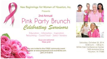 Pink Party Brunch Presented by New Beginnings for...