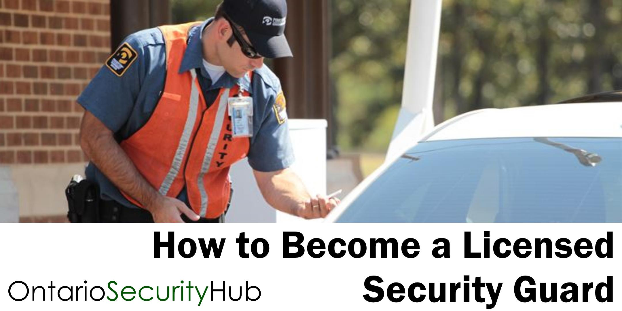 How to Become a Licensed Security Guard in Windsor Online Webinar