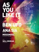 As You Like It with Ben UFO