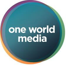 One World Media logo