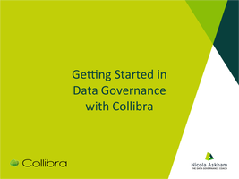 Getting Started in Data Governance with Collibra
