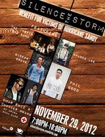 Silence The Storm Benefit for Victims of Hurricane Sand...