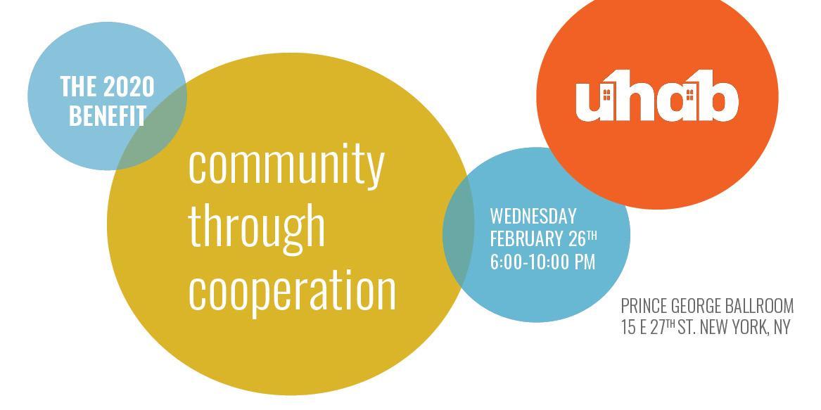 UHAB's 2020 Benefit: Community through Cooperation