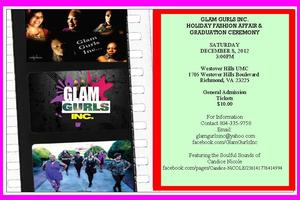 Glam Gurls Vendor Table